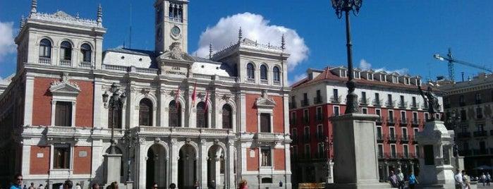 Plaza Mayor is one of Pucela imprescindible.