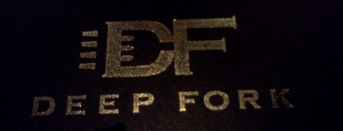 Deep Fork Grill is one of Use Your Keep It Local OK Card.