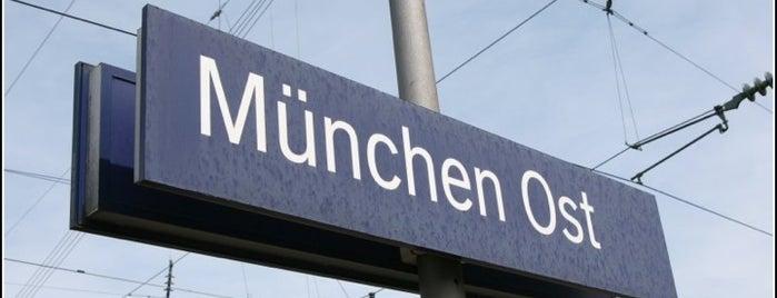 Bahnhof München Ost (S+U Ostbahnhof) is one of München S-Bahnlinie 4.