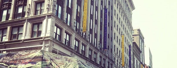 Emerson College is one of Boston City Badge - Beantown.