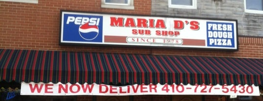 Maria D's Sub Shop is one of Federal Hill Bars and Taverns.