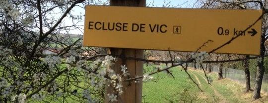 Écluse de Vic is one of Canal du Midi.
