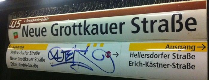 U Kienberg (Gärten der Welt) is one of U-Bahn Berlin.