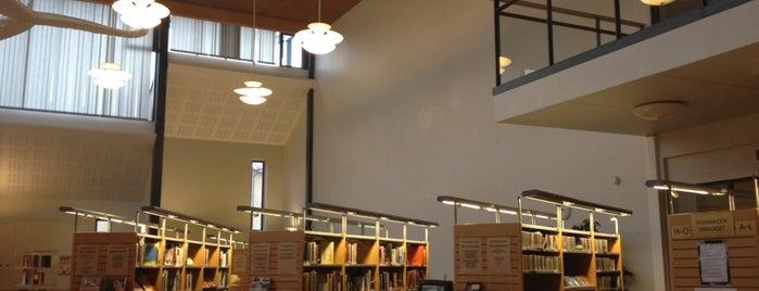 Pointin kirjasto is one of HelMet-kirjaston palvelupisteet.