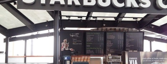Starbucks is one of Cincinnati Airport.