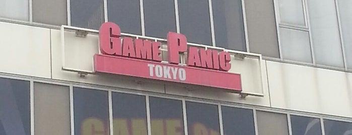 ゲームパニック東京 is one of beatmania IIDX 設置店舗.