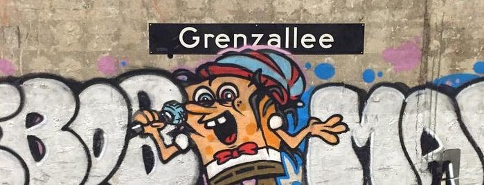 U Grenzallee is one of U-Bahn Berlin.