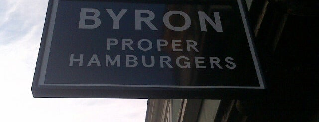 Byron is one of Must-visit Food or Drink in Cambridge.