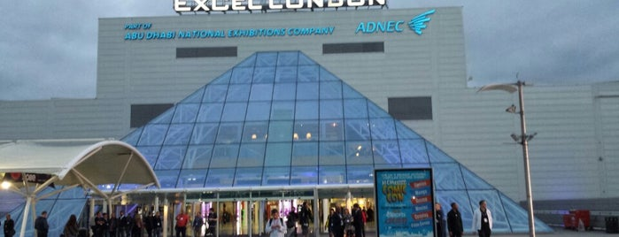ExCeL London is one of London.