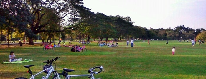 Vachirabenjatas Park (Rot Fai Park) is one of Favorite Great Outdoors.