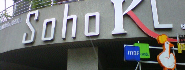 Solaris Mont'Kiara (SohoKL) is one of F&B.