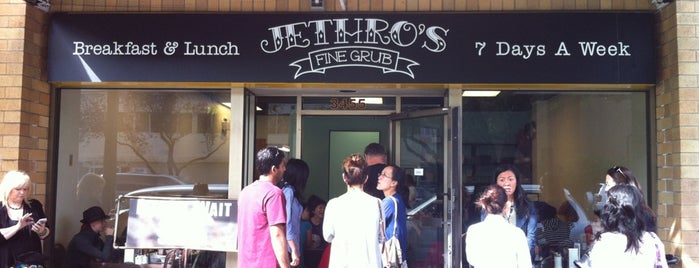 Jethro's Fine Grub is one of Great Breakfast Joints in Vancouver.