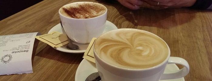 Bespoke is one of HK Best Coffee.