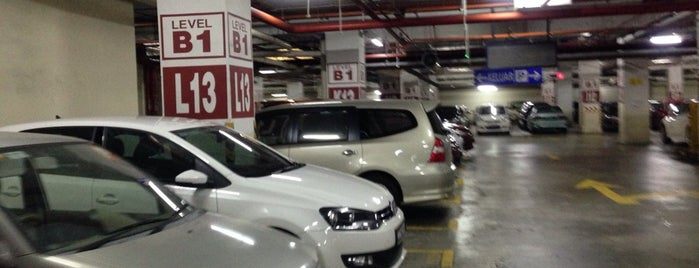 Parking @ One World Hotel is one of parking.