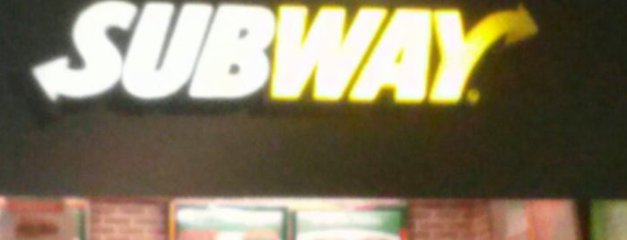 Subway is one of All-time favorites in Brazil.
