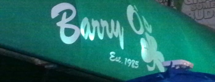 Barry O's is one of Cracken's Matchbook Collection.