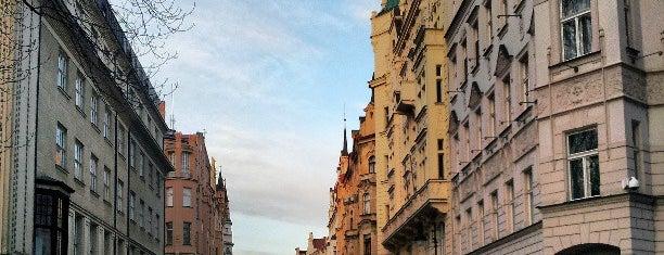 The Jewish Quarter is one of Prague.