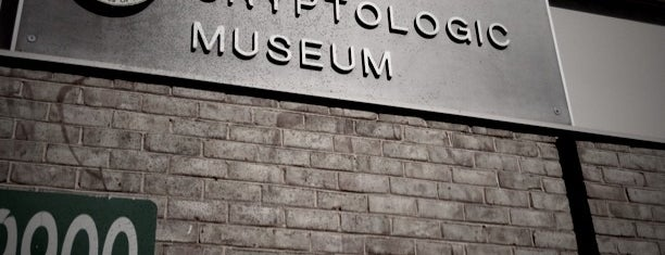 National Cryptologic Museum is one of 75 Geeky Places to Take Your Kids.