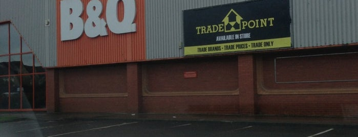B&Q is one of Guide to Yate's best spots.