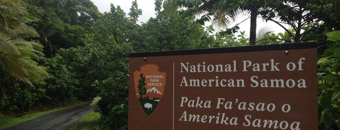 National Park of American Samoa is one of U.S. National Parks.