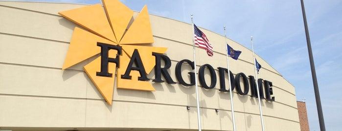 Fargodome is one of Stadiums.