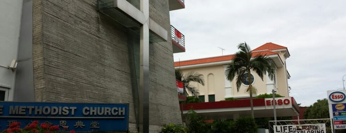 Grace Methodist Church is one of The Houses of Prayers & Worship.