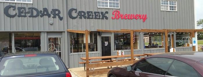 Cedar Creek Brewery is one of My Visited Breweries.