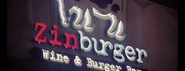 Zinburger is one of Nick's Fav Places to Grub.