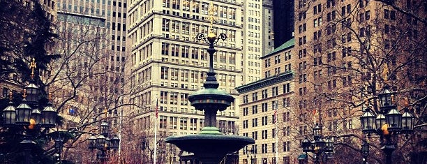 City Hall Park is one of New York Trip.