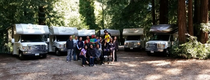 Smithwoods RV Park is one of El Camino Real.