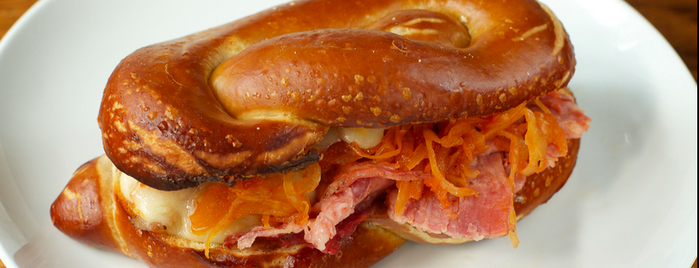 Sigmund Pretzel Shop is one of NYC Eats To Try.
