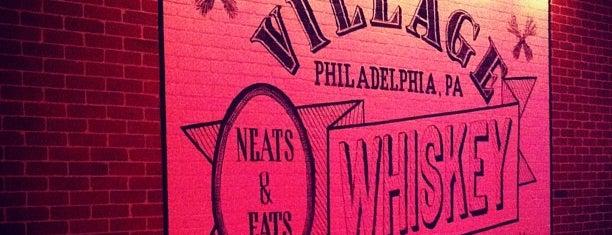 Village Whiskey is one of I spy with my 4sq eye.