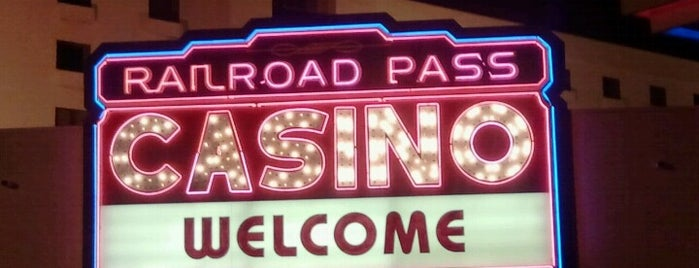 Railroad Pass Hotel & Casino is one of Ferias USA 2012.