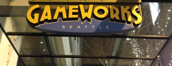 GameWorks is one of Happy Hour in Seattle.