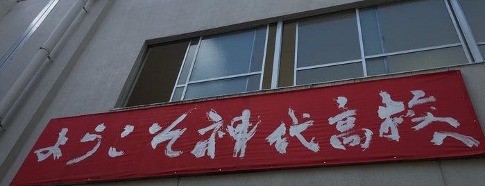 東京都立 神代高等学校 is one of 都立学校.
