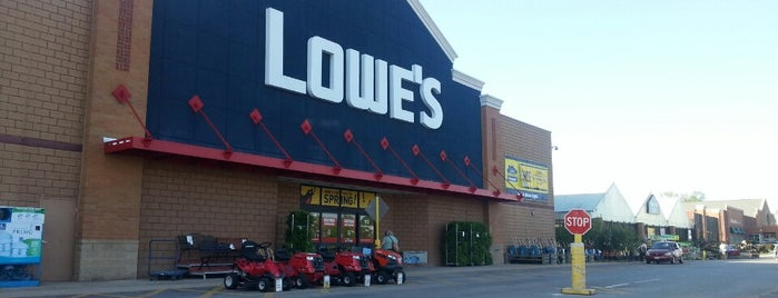 Lowe's Home Improvement is one of Places I End Up Frequently.