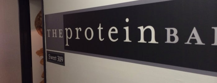 The Protein Bakery is one of New York.