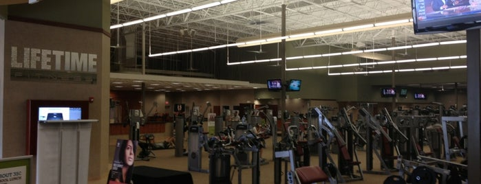Life Time Fitness is one of Most Visited.
