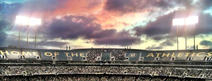 O.co Coliseum is one of Major League Ballparks.