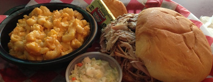 Rockabilly BBQ is one of South Carolina Barbecue Trail - Part 1.