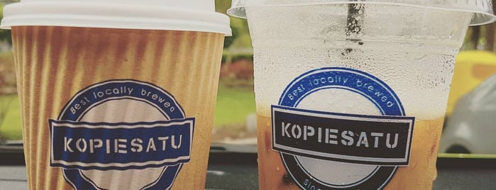 KopieSatu Cafe is one of Cafe & Kopitiam.
