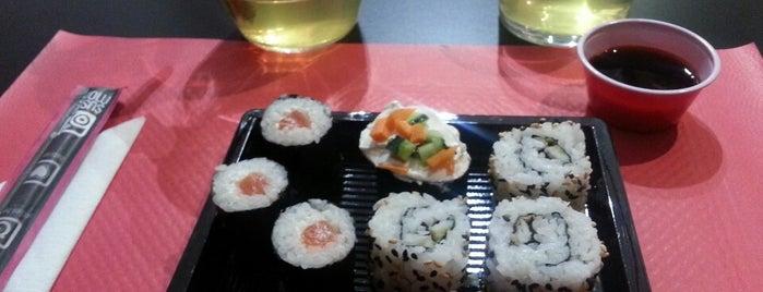 Sushimore is one of Algunos de mis sitios favoritos para comer.