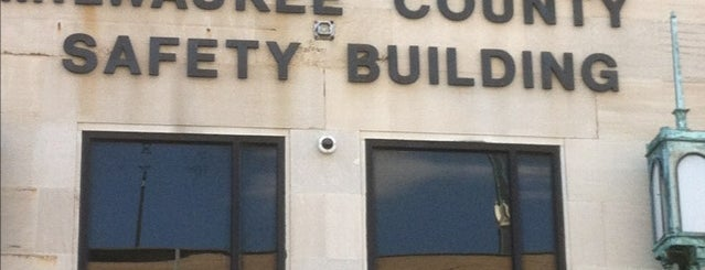 Milwaukee County Safety Building is one of Work.