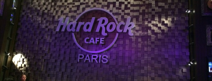 Hard Rock Cafe Paris is one of Alessio's tips.
