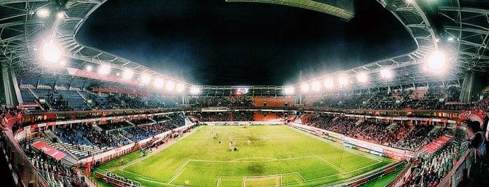 Стадион «Локомотив» is one of Stadiums.