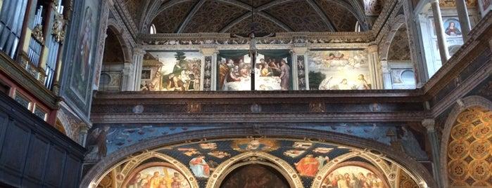 Chiesa di San Maurizio al Monastero Maggiore is one of 101Cose da fare a Milano almeno 1 volta nella vita.