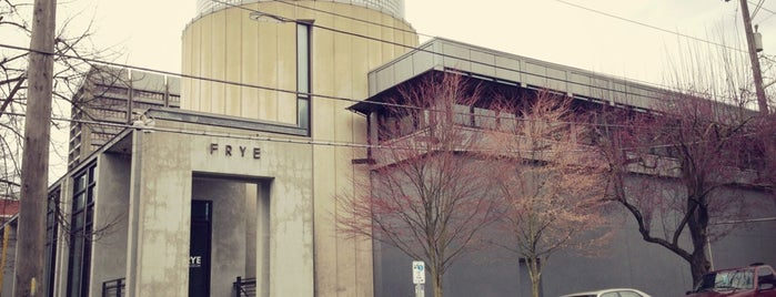Frye Art Museum is one of Seattle spots.
