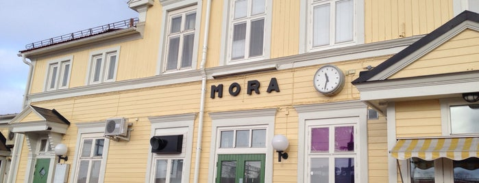 Mora Station is one of Tågstationer - Sverige.