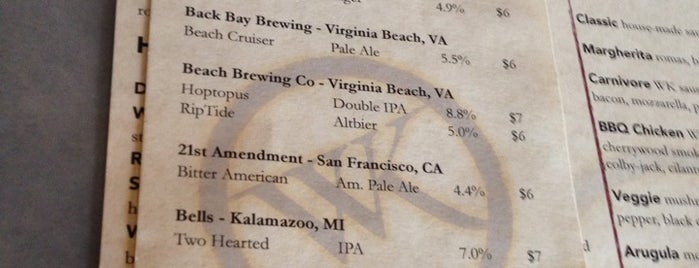 The 15 best places for a craft beer in virginia beach for Whiskey kitchen virginia beach