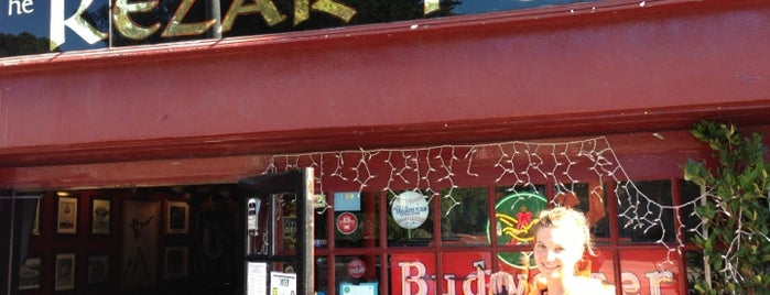 Kezar Pub is one of National Redskins Rally Bars.